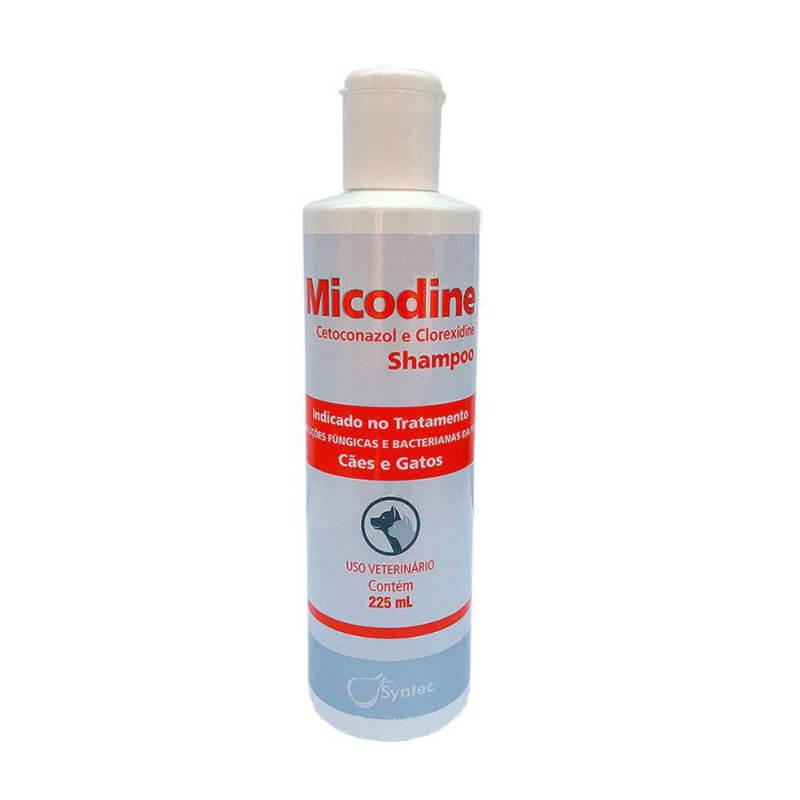 Petshop Duke Micodine Ketoconazol Y Clorhexidina Shampoo Syntec Para Perros Y Gatos